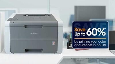 Brother / Printer Laser Color Wifi HL-3140CW Impresora láser color con tecnología LED y conexión WiFi