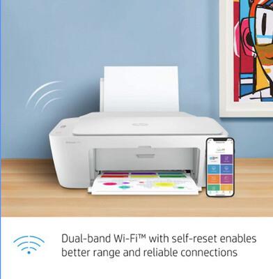 Printer All-in-One HP DeskJet 2752, Inkjet Wireless