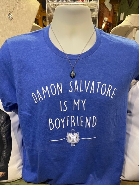 Damon Salvatore Boyfriend Shirt