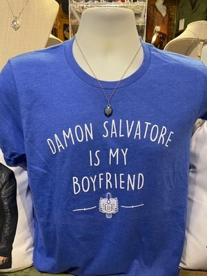 Damon Salvatore Boyfriend Shirt