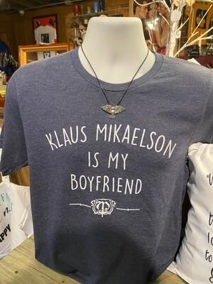 Klaus Mikaelson Boyfriend Shirt