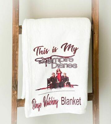 Vampire Diaries Blanket