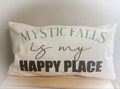 Mystic Falls Pillowcase