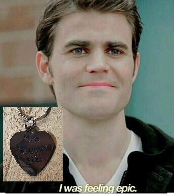 Stefan Quote Necklace