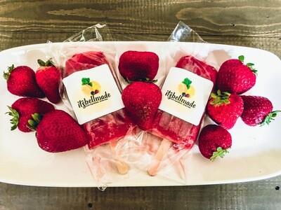 Strawberry Paletas (30/min)