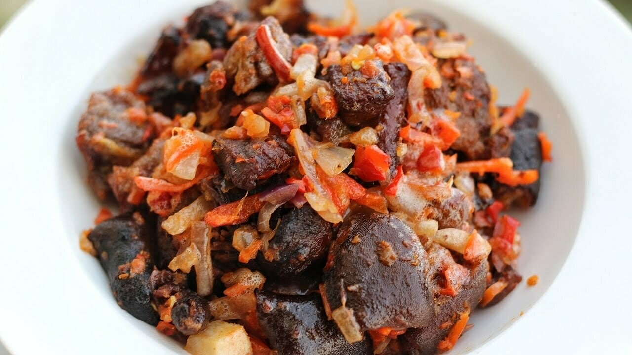 Peppered Goat Meat