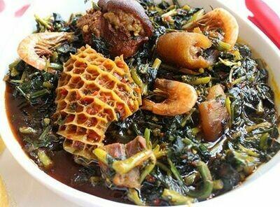 Edikan Ikong (Vegetable)