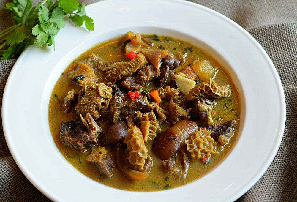 Assorted Peppersoup