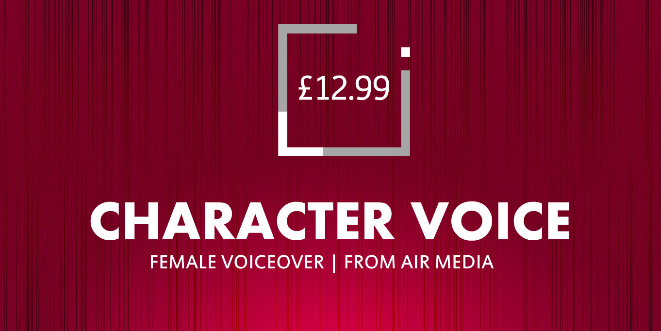 Air Media - Character & Female Voice Over
