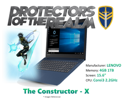 The Constructor - X - Design