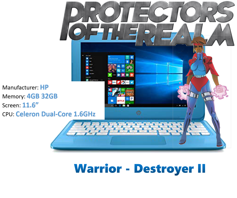 Warrior Princess - Destroyer II - Speed