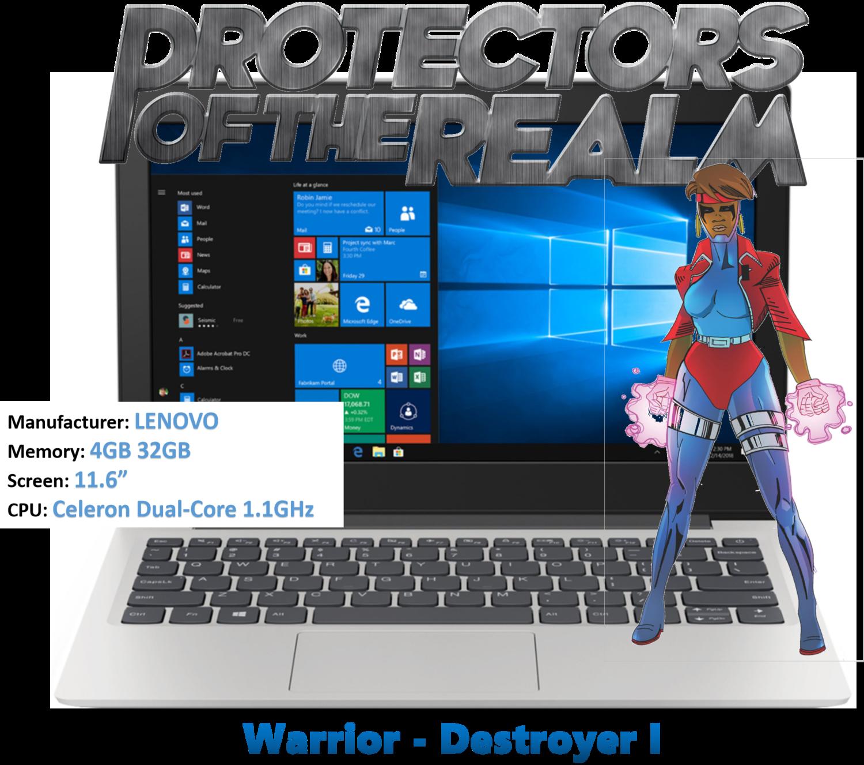 Warrior Princess - Destroyer I - Speed