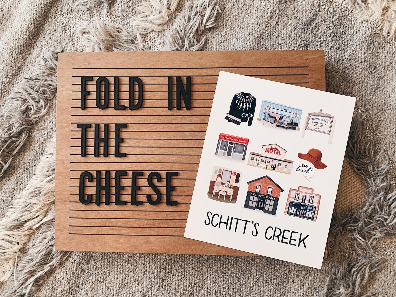 Schitt's Creek Print
