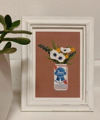 Who Needs a Vase Print