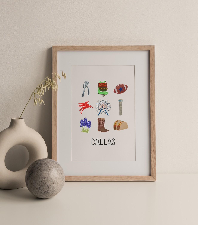 Dallas Print
