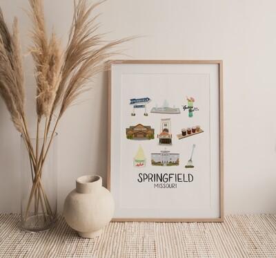 Springfield, MO Print