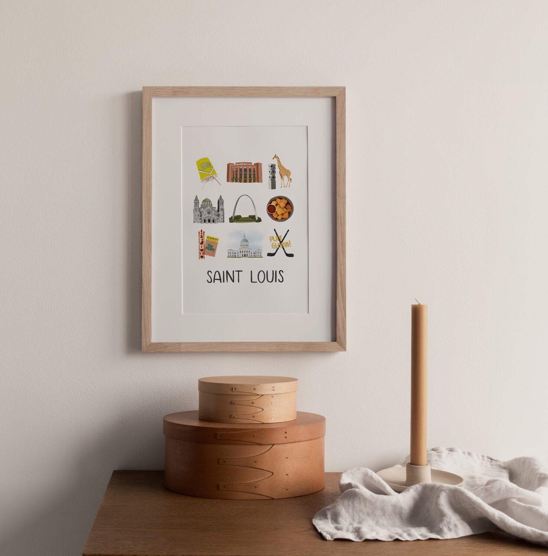 St. Louis Print