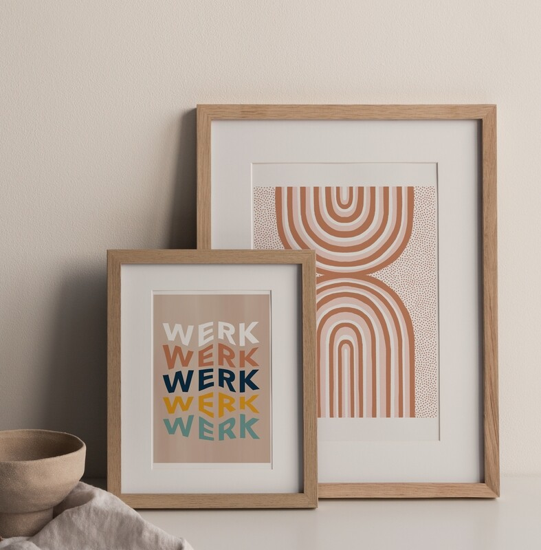 You Better Work Print