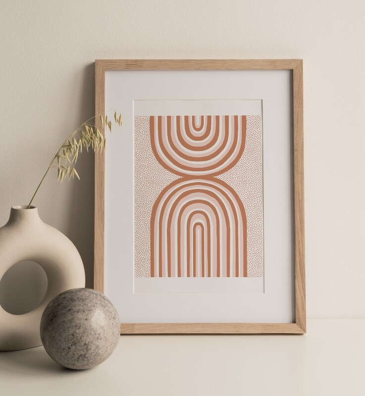 Rose Arches Print