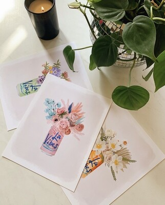 La Vibes Art Print Pack