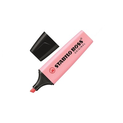 Розовый маркер-текстовыделитель
