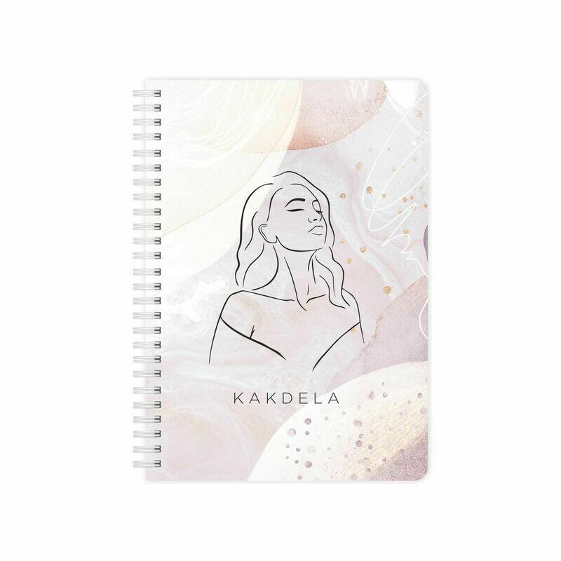 Купить Планер KAKDELA 2.0 с обложкой Девушка