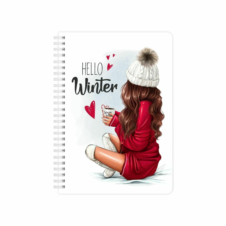 Планер неделя «Hello, Winter» MyPPlanner А5