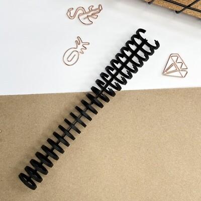 Пружина разъёмная (чёрная) 16мм
