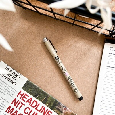 Ручка капиллярная Sakura Pigma Micron линер 0.3мм черный