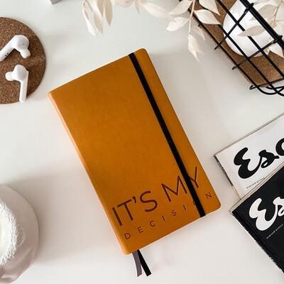 Оранжевый ежедневник Aesthetic В6+