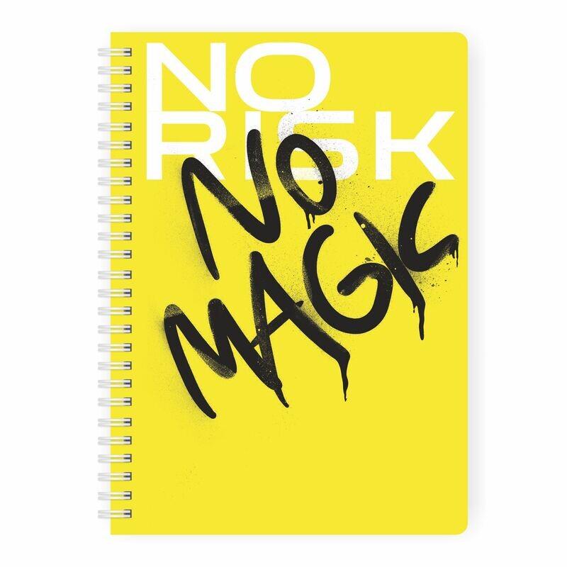 Купить Smart-планер No risk, no magic MyPPlanner А5