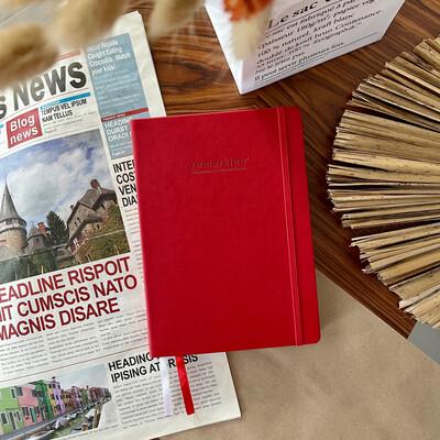 Красный еженедельник 2.0 MyPPlanner A5