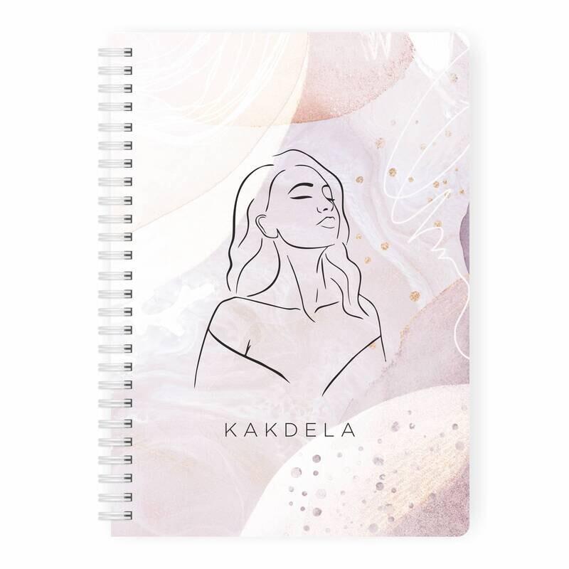 Купить Планер неделя Девушка KAKDELA 2.0 А5