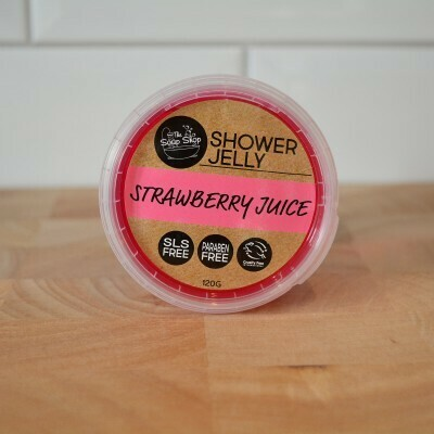 Strawberry Juice Shower Jelly