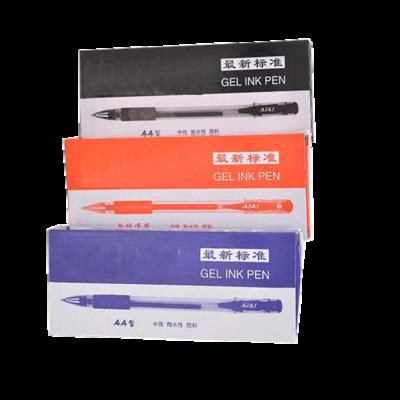 AIAI GEL INK PEN X 36 BLUE RED BLACK SCHOOL OFFICE SHOP WRITING LOT SET PACK COMASOUND KARTEL CSL ONLINE