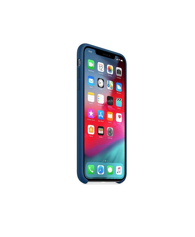 APPLE ORIGINAL CASE SILICONE BLEU IPHONE XS MAX BLUE HORIZON  I PHONE TELEPHONE COQUE 190198803030 COMASOUND KARTEL
