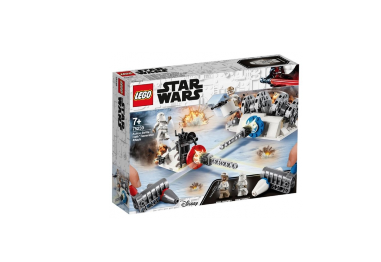 LEGO STAR WARS ACTION BATTLE HOTH GENERATOR ATTACK  JOUET JEU JEUX CONSTRUCTION ENFANT NOEL NEUF 5702016370157 COMASOUND KARTEL 75239