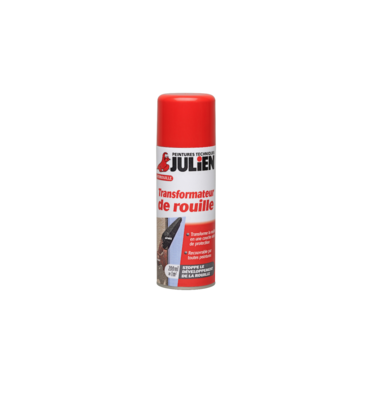 JULIEN AKZO NOBEL SPRAY ANTIROUILLE TRANSFORMATEUR DE ROUILLE ANTI STOPPE RUST 200 ML DIY PAINT PRO BRICOLAGE AUTO MOTO QUAD CAR 3256611080017 COMASOUND KARTEL