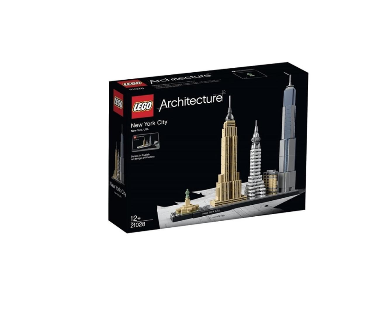 LEGO ARCHITECTURE NEW YORK USA 21028 JOUET JEU JEUX ITEM 6135672 CONSTRUCTION ENFANT NOEL NEUF 5702015591218 COMASOUND KARTEL