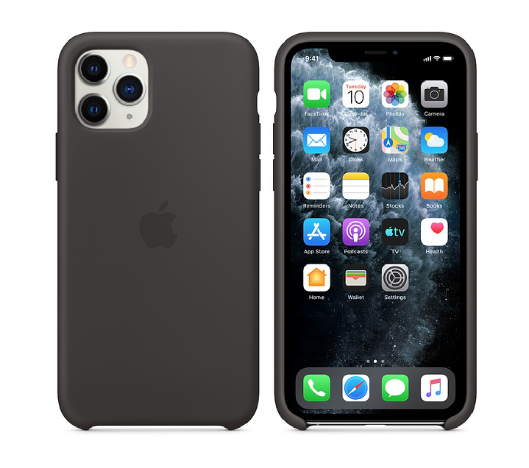APPLE ORIGINAL CASE SILICONE BLACK IPHONE 11 PRO MAX I PHONE TELEPHONE COQUE 190199288195 COMASOUND KARTEL