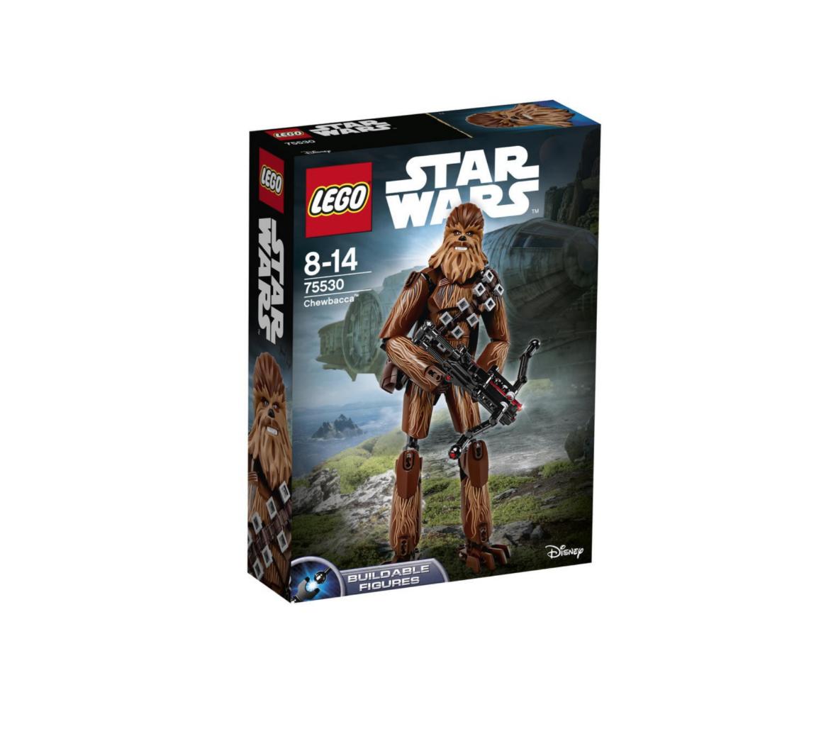 LEGO STAR WARS  CHEWBACCA  ( CHUBACCA , CHUBAKA ) JOUET JEU JEUX CONSTRUCTION ENFANT NOEL NEUF 5702015868228 COMASOUND KARTEL 75530 ITEM 6175308