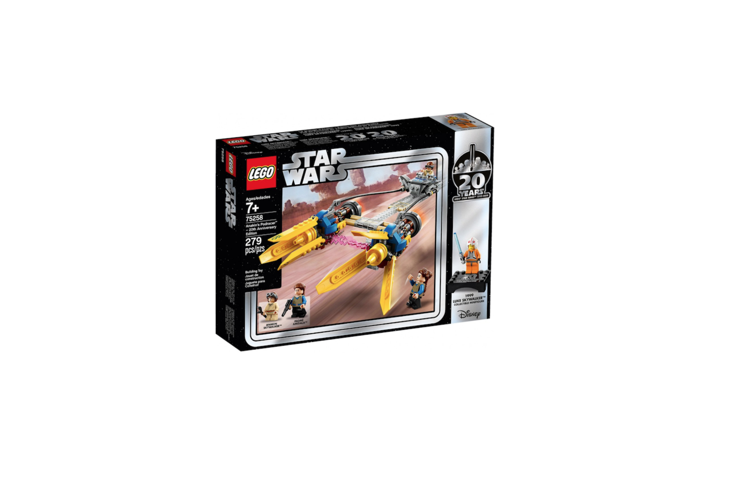 LEGO STAR WARS ANAKIN'S PODRACER 20th ANNIVERSARY EDITION COLLECTOR 75258 JOUET JEU JEUX ITEM 6251728 CONSTRUCTION ENFANT NOEL NEUF 5702016370713 COMASOUND KARTEL