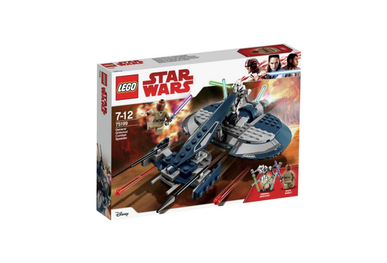 LEGO STAR WARS  GENERAL GRIEVOUS COMBAT SPEEDER  JOUET JEU JEUX CONSTRUCTION ENFANT NOEL NEUF 5702016109931 COMASOUND KARTEL 75199