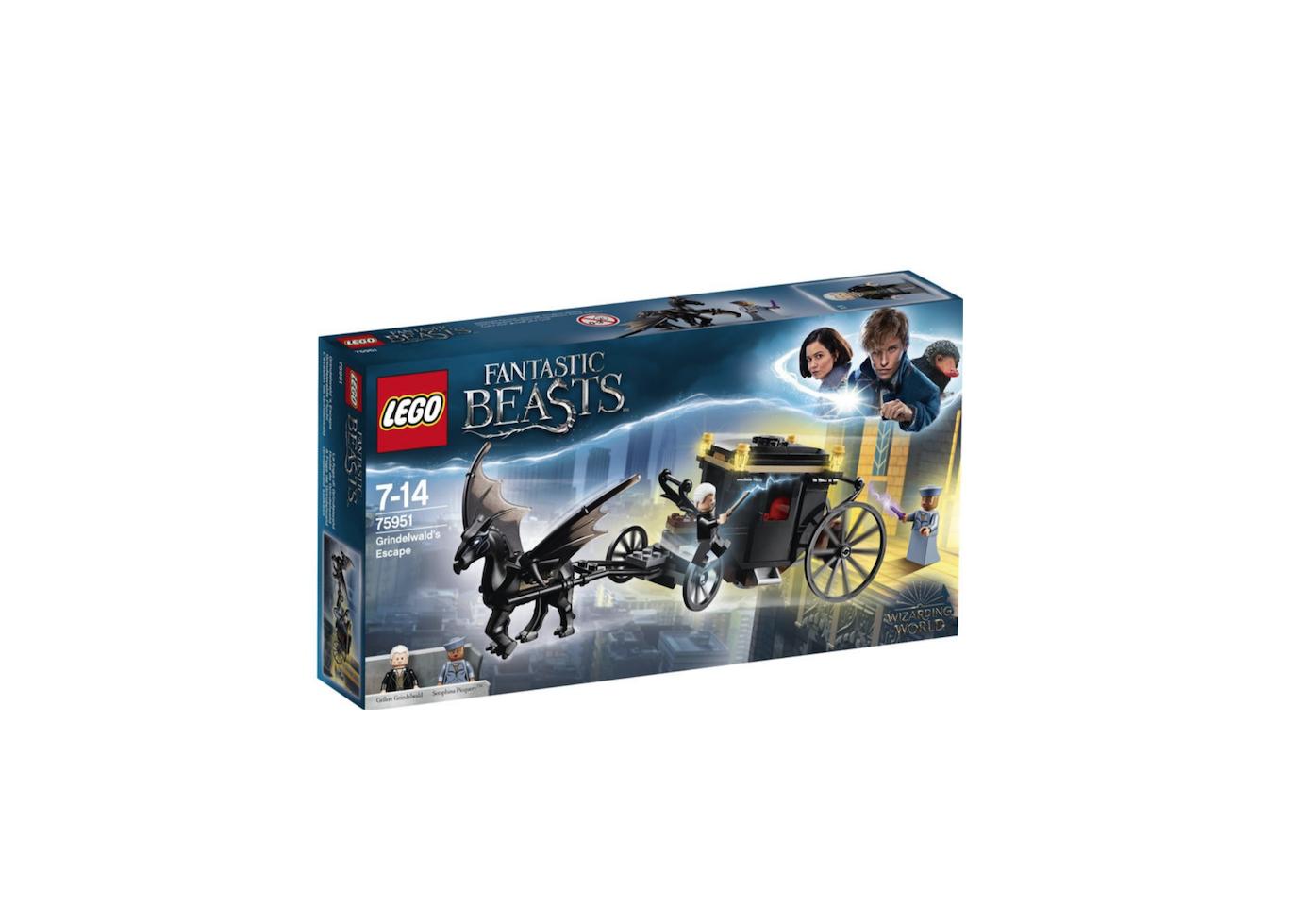 LEGO FANTASTIC BEASTS 75951 RARE COLLECTOR JOUET JEU JEUX ITEM 6212636 CONSTRUCTION ENFANT NOEL NEUF 5702016110340 COMASOUND KARTEL