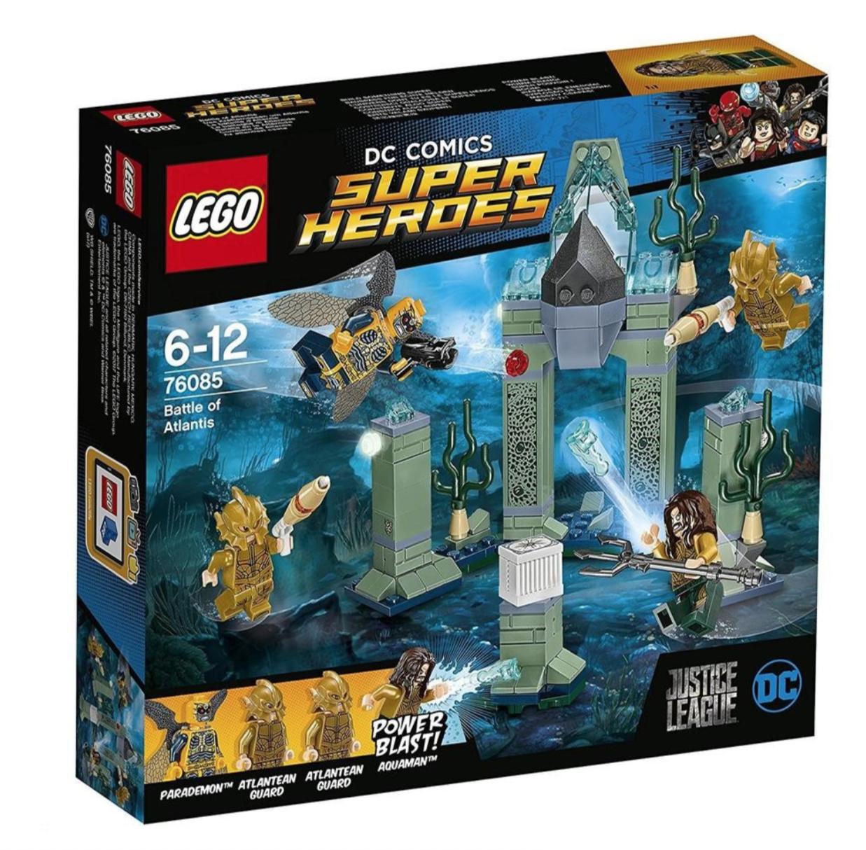 LEGO COMICS SUPER HEROES BATTLE OF ATLANTIS JOUET JEU JEUX CONSTRUCTION ENFANT NOEL NEUF 5702015868709 COMASOUND KARTEL 75085 ITEM 6175506