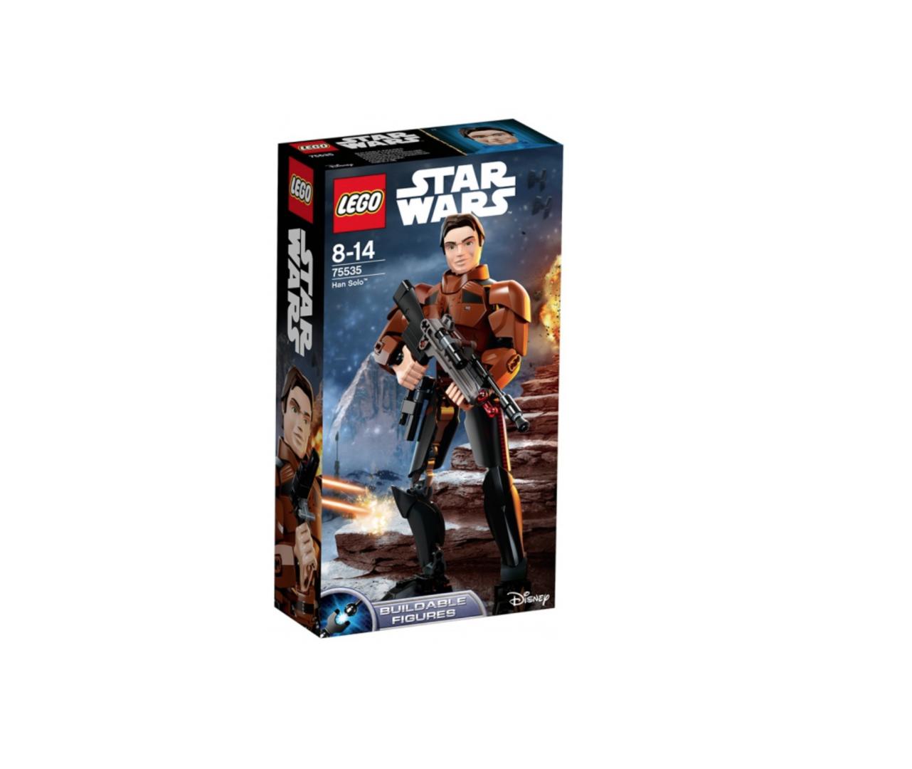 XXX LEGO  STAR WARS  HAN SOLO 75535 JOUET JEU JEUX ITEM 6213569 CONSTRUCTION ENFANT NOEL NEUF 5702016112108 COMASOUND KARTEL