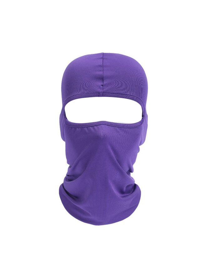 CAGOULE SKI MASK BALACLAVA LYCRA NINJA MOTO MOTOR   PURPLE BIKE FROID EXTREME RANDO PECHE CHASSE VELO QUAD AIRSOFT PAINT BALL GRAFFITI PROTECTION MONTAGNE SPANDEX COMASOUND KARTEL CSK ONLINE ( 6 )