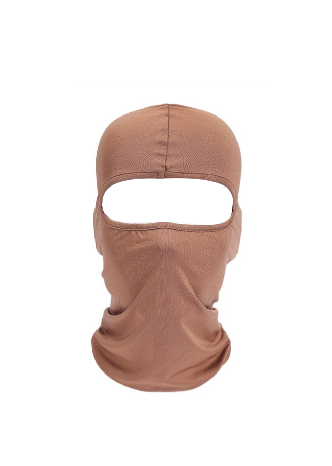CAGOULE SKI MASK BALACLAVA LYCRA NINJA MOTO MOTOR   CARAMEL BIKE FROID EXTREME RANDO PECHE CHASSE VELO QUAD AIRSOFT PAINT BALL GRAFFITI PROTECTION MONTAGNE SPANDEX COMASOUND KARTEL CSK ONLINE ( 21 )