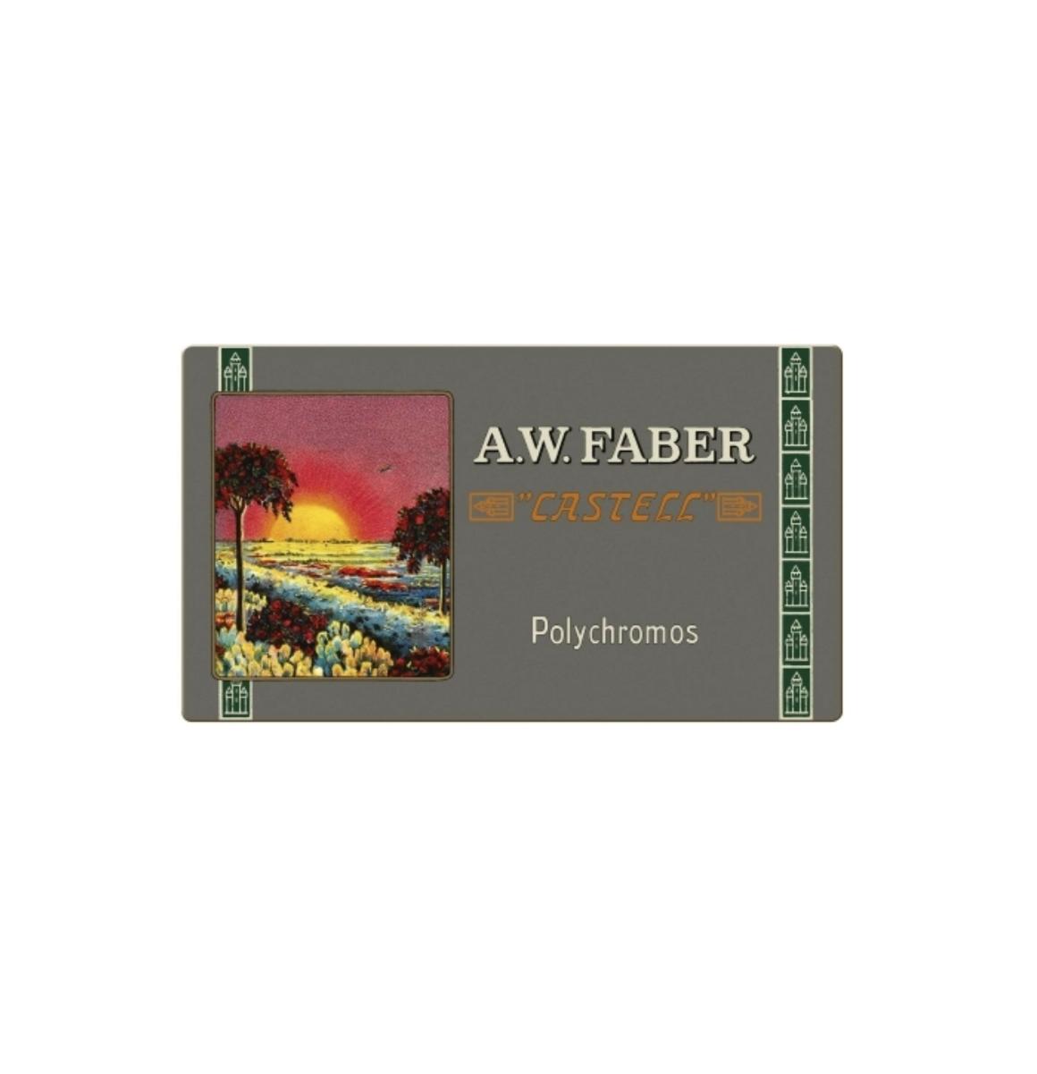 A.W. FABER CASTELL 36 POLYCHROMOS PENCILS CRAYON COULEUR ART ARTISTE DESSIN DRAW 4005402110032 COMASOUND KARTEL CSK ONLINE