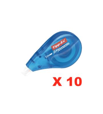 TIPP-EX BIC LOT PACK SET X 10 MINI FLEX ROLLER CORRECTEUR MINI BLANC DE CORRECTION HENKEL ECRITURE SCOLAIRE PRO BUREAU COMMERCE SHOP STORE ART CALLIGRAPHIE 3086126644530 COMASOUND KARTEL CSK ONLINE